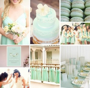 2013 wedding color trends: mint