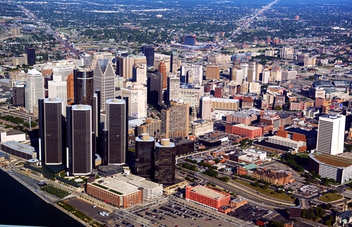 Detroit may be a good choice for college towns.