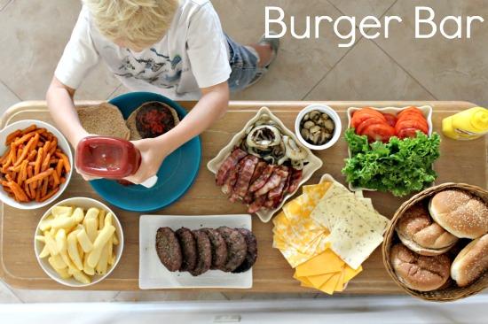 July 4th burger bar