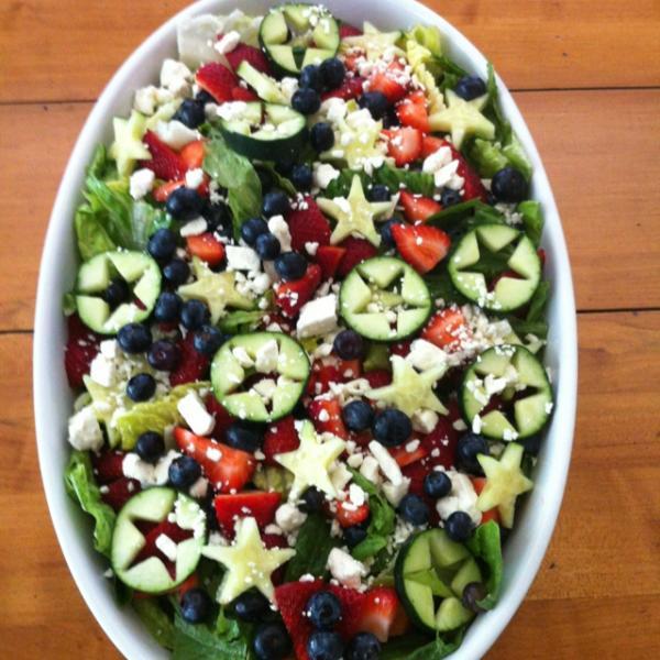 4th of July salad