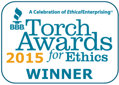 Learn more about the BBB Torch Award for Ethics and read moving company reviews