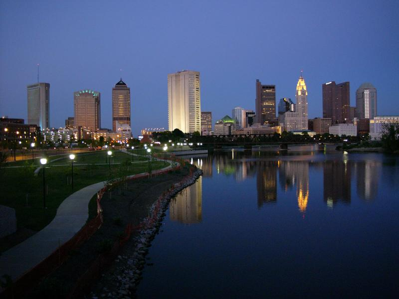 A city with some of the cheapest rent is Columbus, OH.