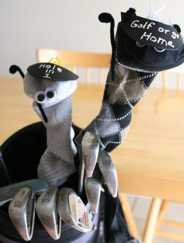 Father's Day DIY Golf Craft