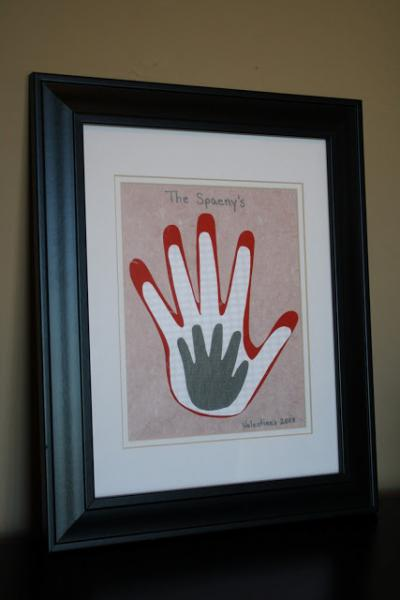 Hand Print Father's Day Craft