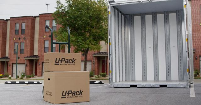 U-Pack ReloCube - small shipping container rental