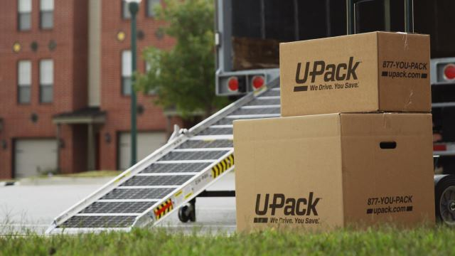 U-Pack Trailer - large shipping container rental