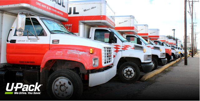 U-Haul Truck Sizes | U-Pack