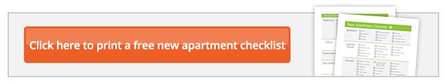 New Apartment Checklist U Pack