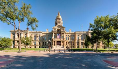 After moving to Cheyenne, visit the Wyoming State Capitol Building.