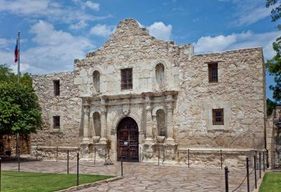 After moving to San Antonio, go visit the Alamo!