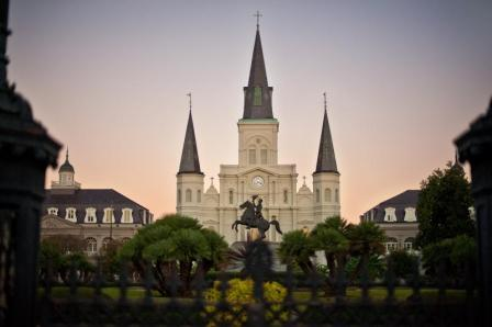 Visit Jackson Square after moving to New Orleans.