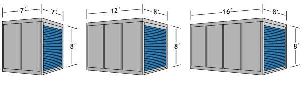 Long Distance Moving Storage Containers