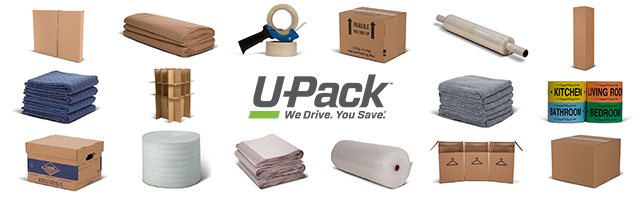 U-Pack Announces New Moving Box Store