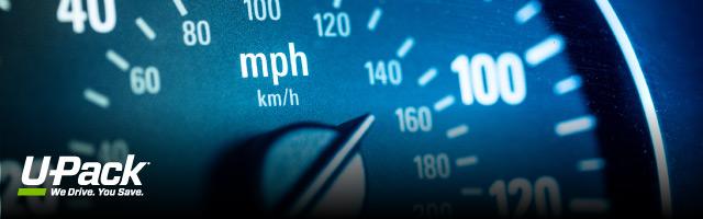 How fast can I drive a U-Haul truck? | U-Pack