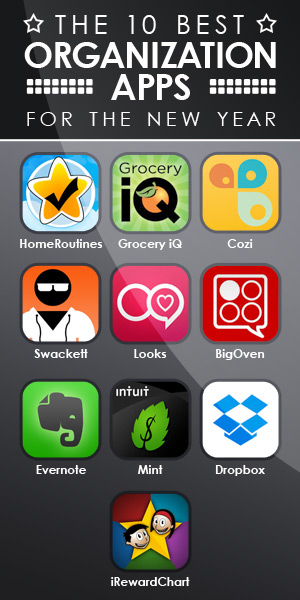 Here are some of the best organization apps for the New Year.
