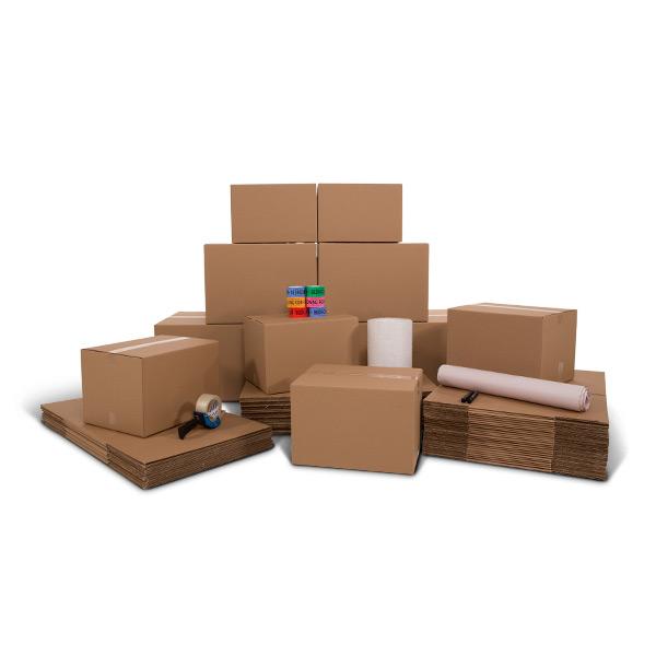 Enhanced 2 Bedroom Moving Kit U Pack