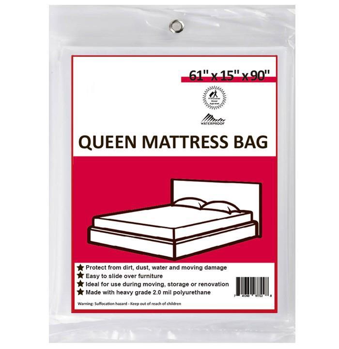 12 Queen Mattress Bags U Pack