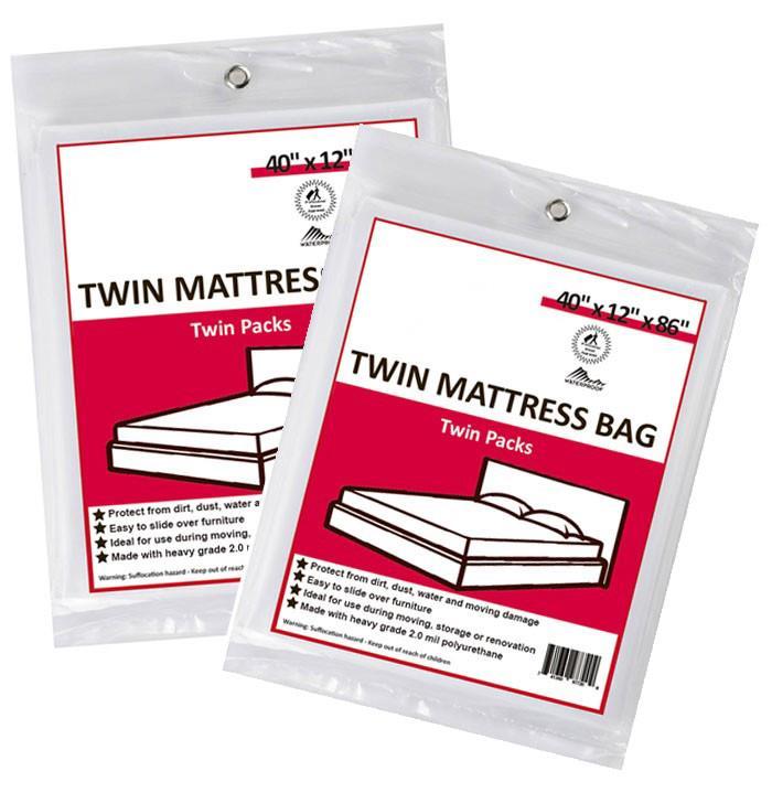 4 Twin Mattress Bags | U-Pack